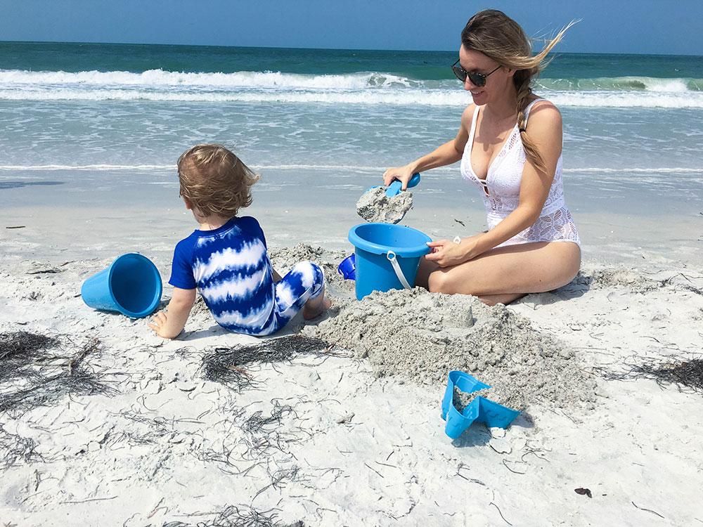 Hotel Zamora - Beach Sand Castles - St. Pete Beach Florida