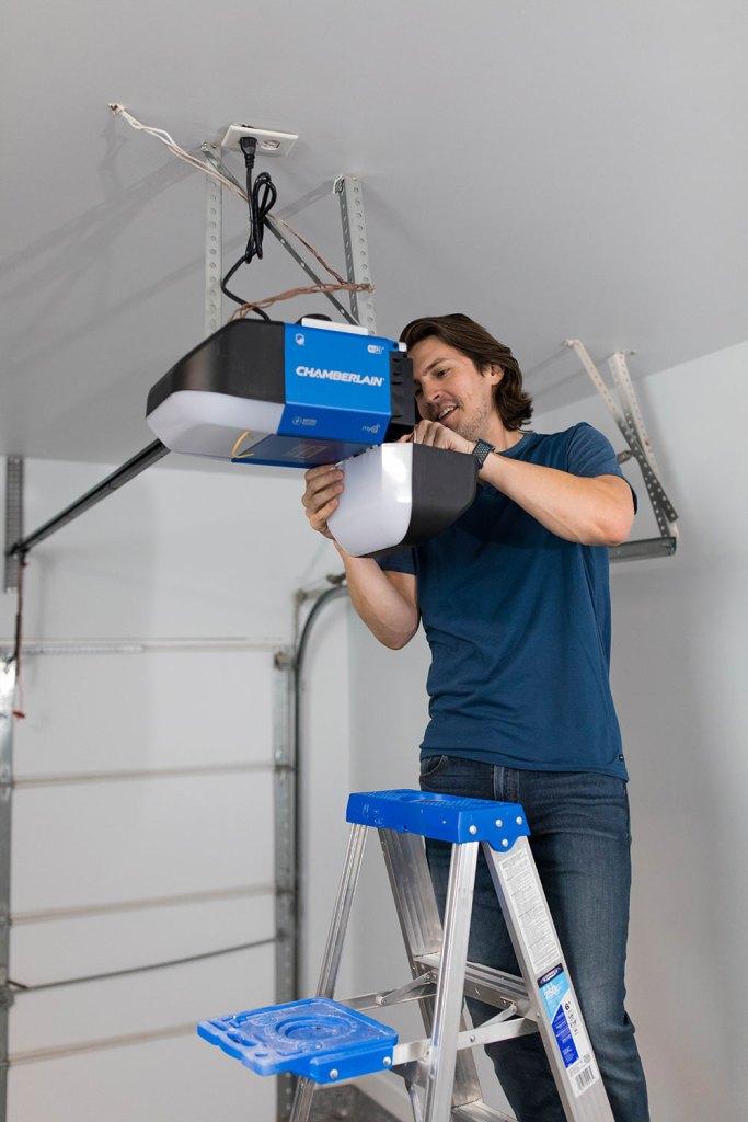 Installing the Chamberlain Smart Garage Door Opener