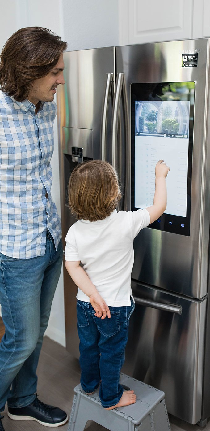 Samsung Smart Hub Fridge