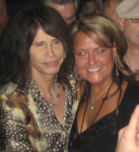 Steven Tyler and some woman