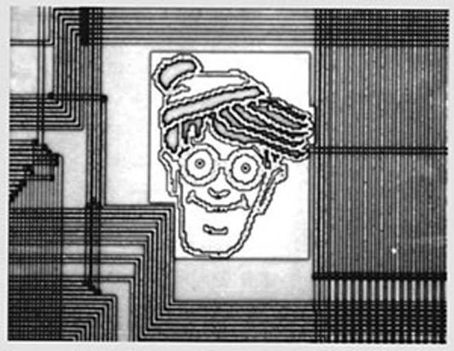 Where's Waldo? Inside a computer chip
