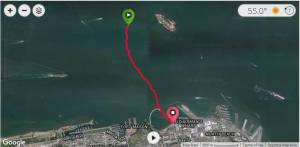Alcatraz course, July 13