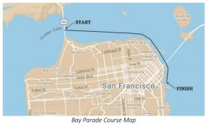 Bay Parade course map.