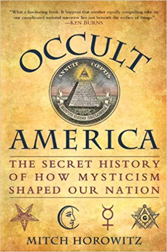 image of Occult America book cover