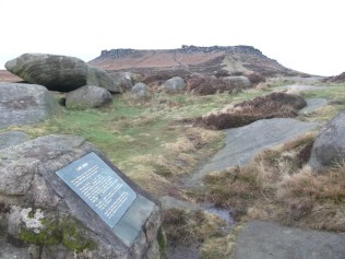 Carl Wark looking towards Higger Tor
