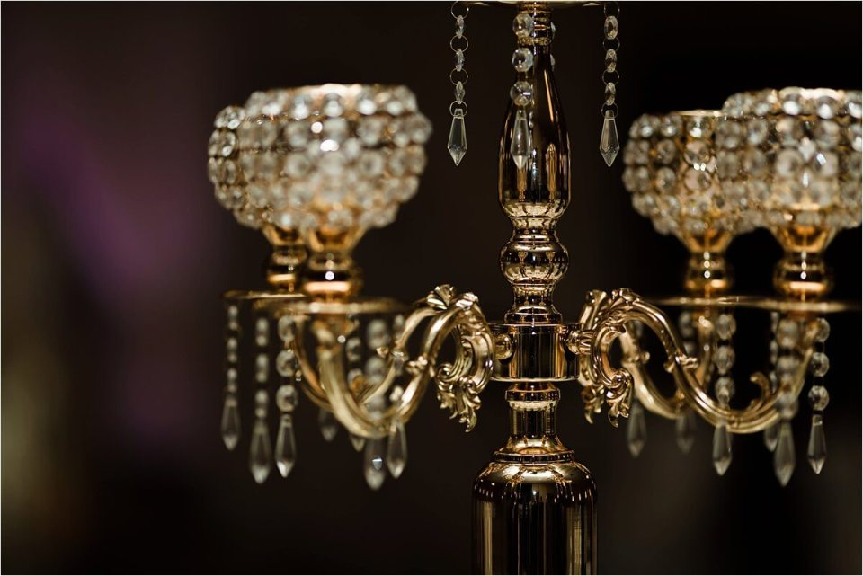 Beautiful wedding crystal chandelier at reception doubletree hilton - Woodstock London Ontario Lebanese middle eastern arab Wedding and engagement photos - Dylan Martin Photography