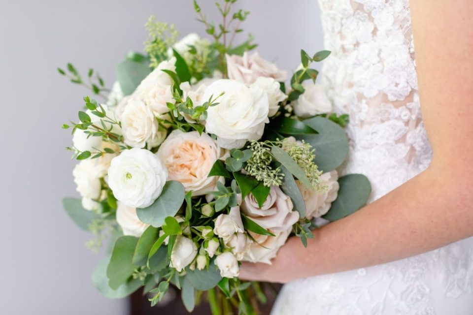 Bridal bouquet by Springhill Flowers in London Ontario