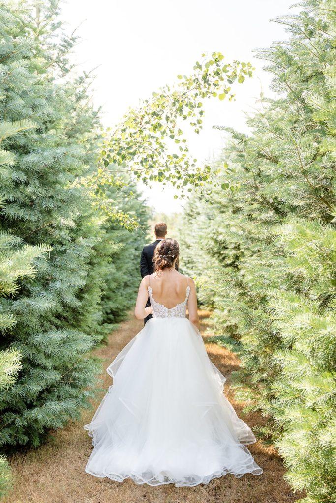 Romantic First look at arrowwood farm