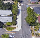 Bird's eye view of NE 33rd and Going St, Portland, OR (Source: Google Street View)