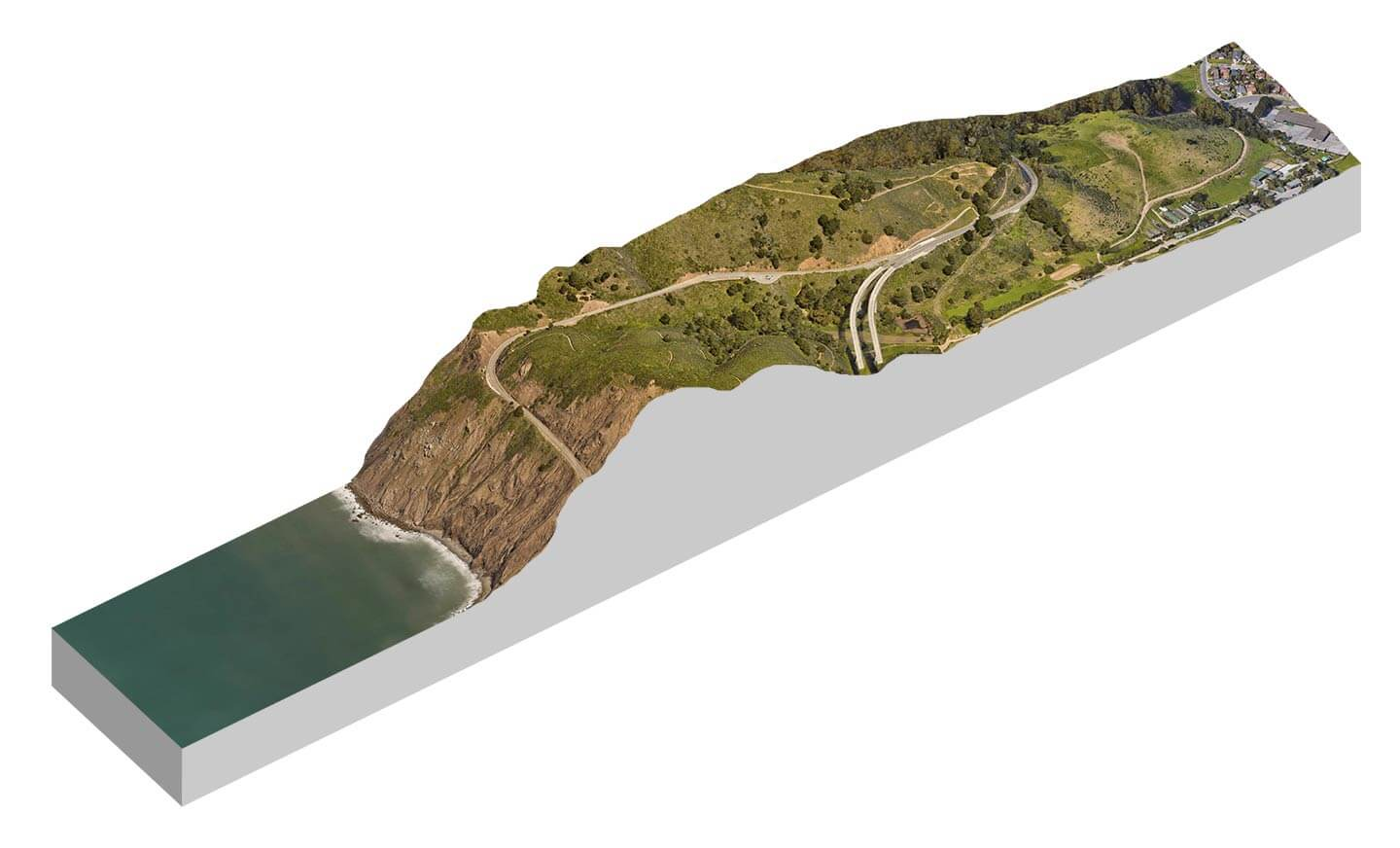 3d Cross Section Using Earth And Photoshop