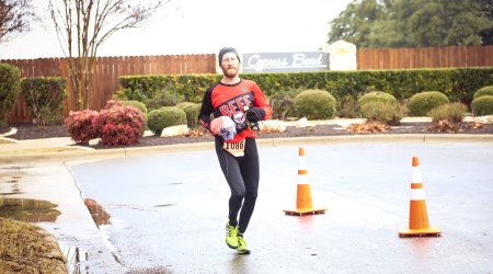 Dylan Cornelius Rogue Distance Festival 30k run 2015. I ran nearly 19 miles for fitness. This was never going to happen.