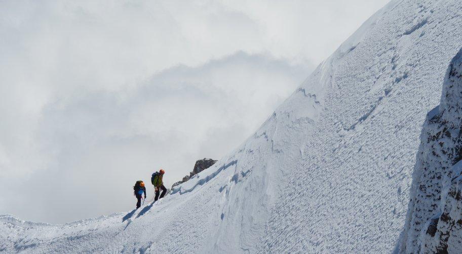 Mont Blanc ascent Photo by Charlie Hammond on Unsplash