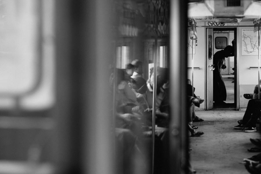 Yangon Circle Line Train