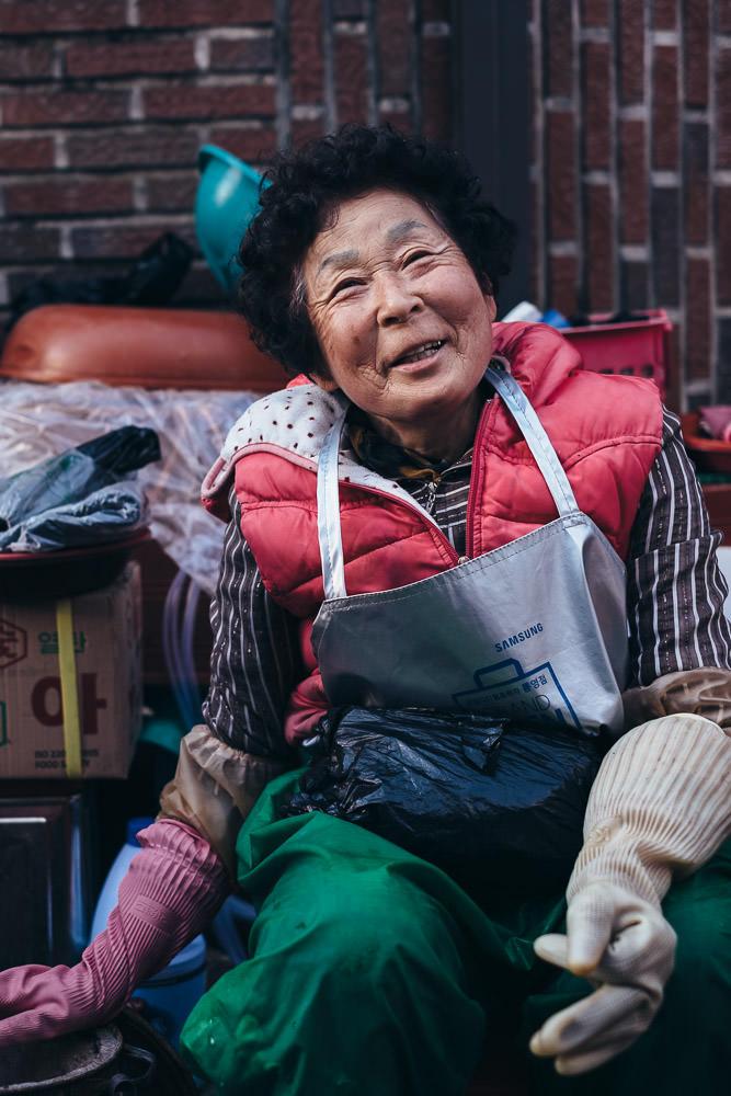 The Friendly Lady - Tongyeong, South Korea