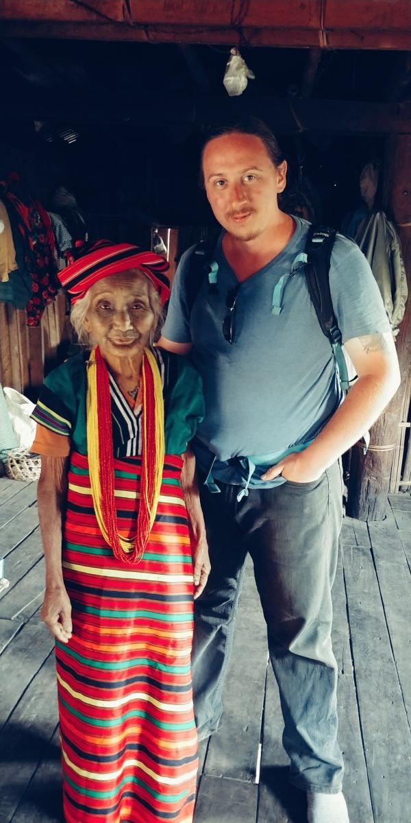 Myanmar Tattoo Faced Woman