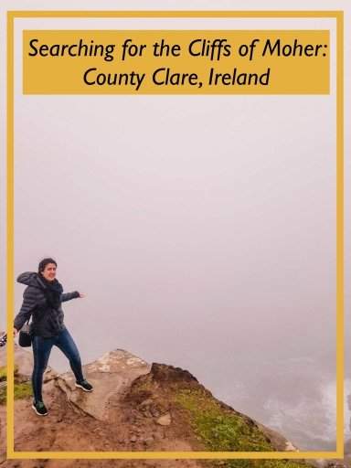 Photo redirecting readers to an article about visiting the Cliffs Of Moher if you're doing a self drive tour of Ireland