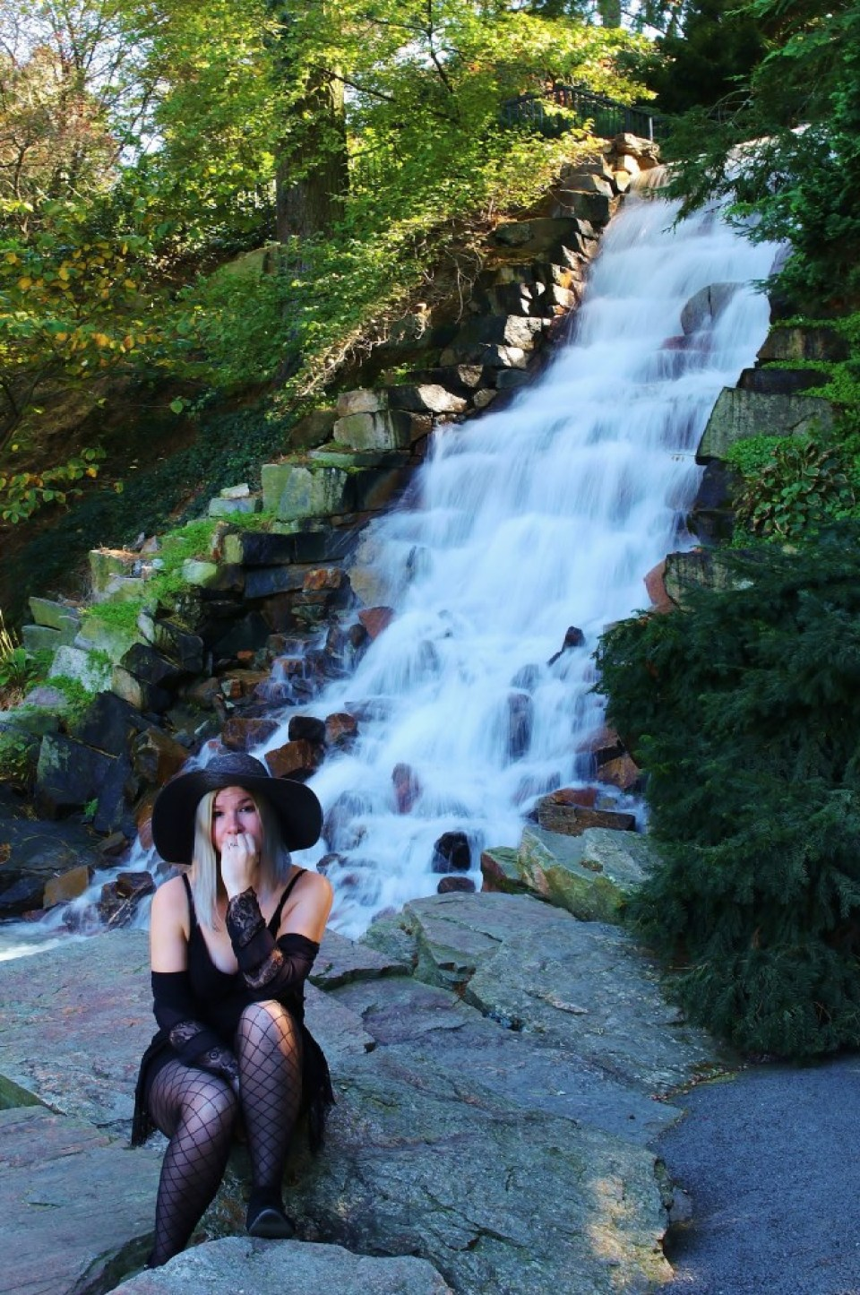 Thirty, Witchy, and Thriving - Birthday Photo Shoot at Longwood Gardens 9