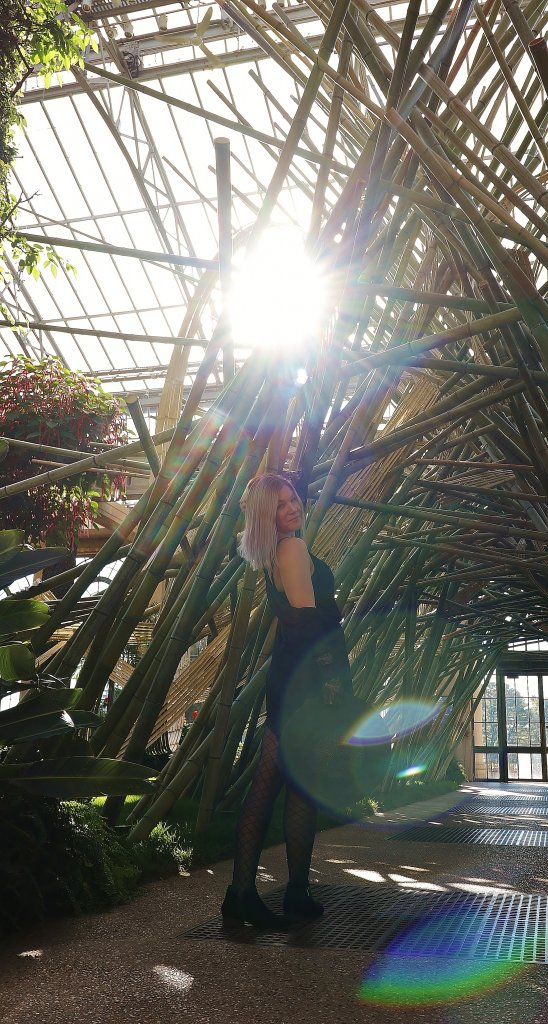 Thirty, Witchy, and Thriving - Birthday Photo Shoot at Longwood Gardens 2