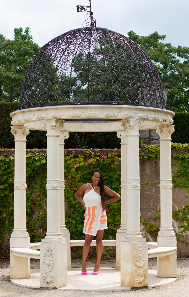 Fashion Blogger Summer Photo Shoot at Longwood Gardens 14