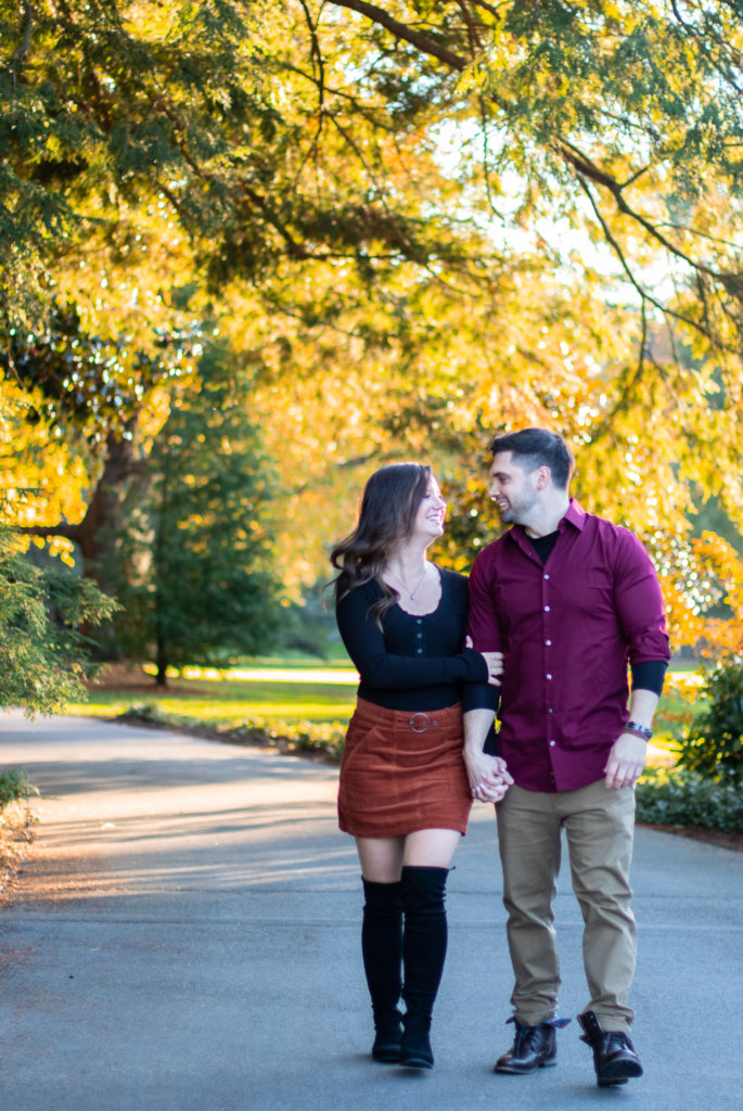 Fall Couples Photo Session at Longwood Gardens 15