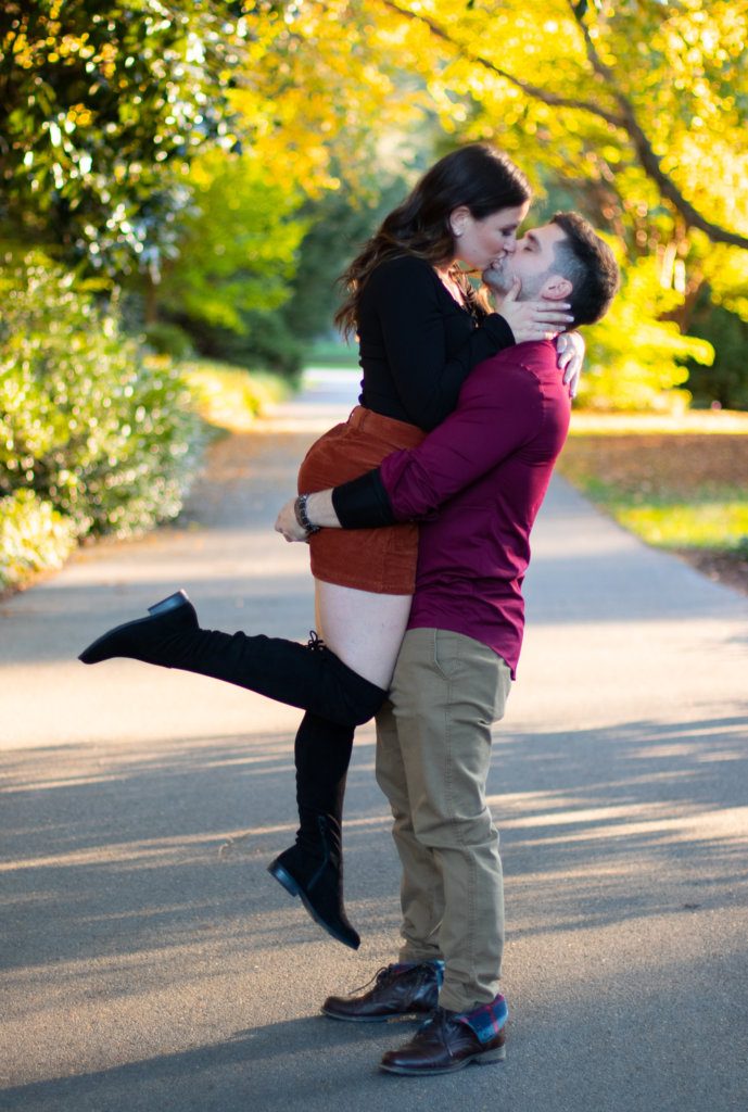 Fall Couples Photo Session at Longwood Gardens 11
