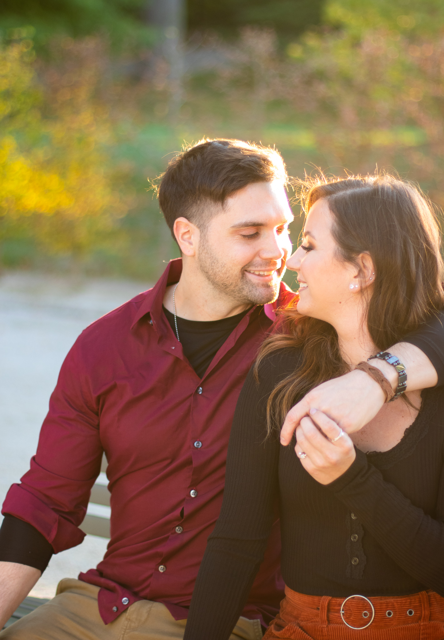 Fall Couples Photo Session at Longwood Gardens