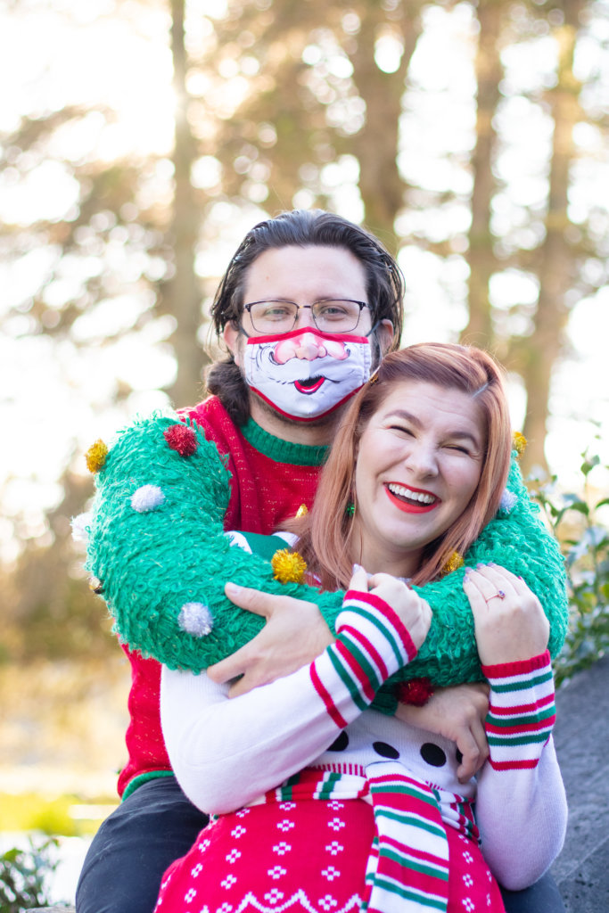 Couples Holiday Session at Greystone Hall 8