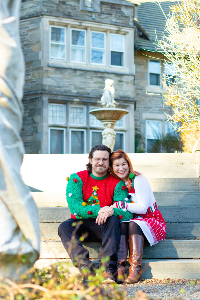 Couples Holiday Session at Greystone Hall 13
