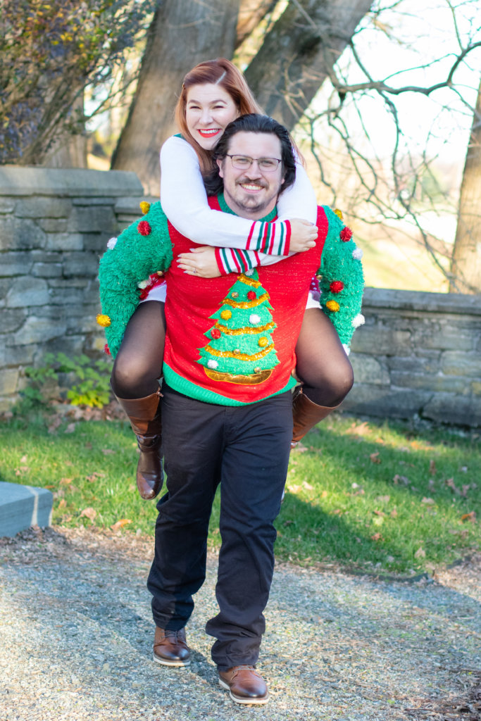 Couples Holiday Session at Greystone Hall 12