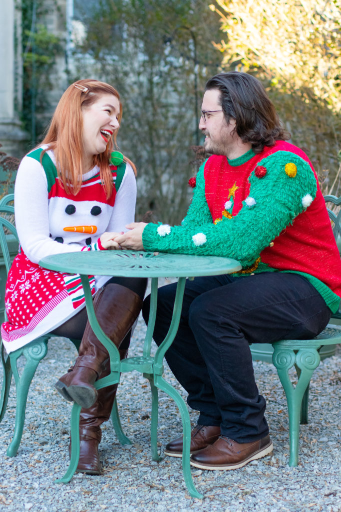 Couples Holiday Session at Greystone Hall 10