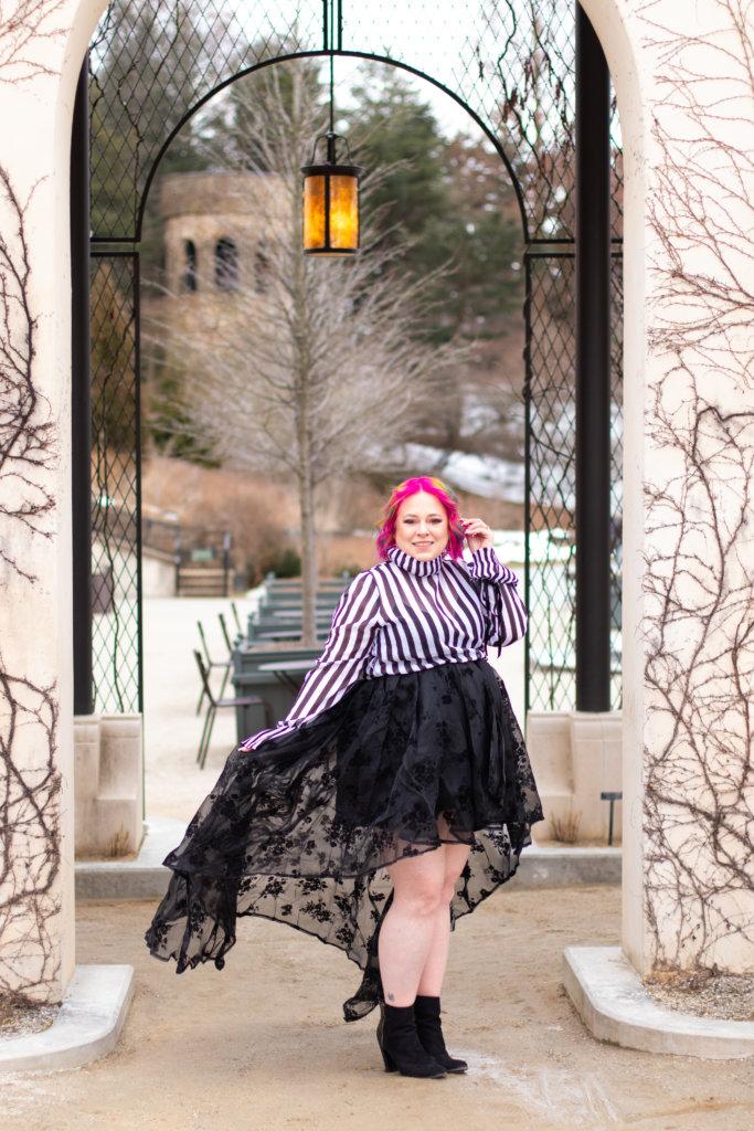 Hairspray and High Heels Spring Shoot at Longwood Gardens 14