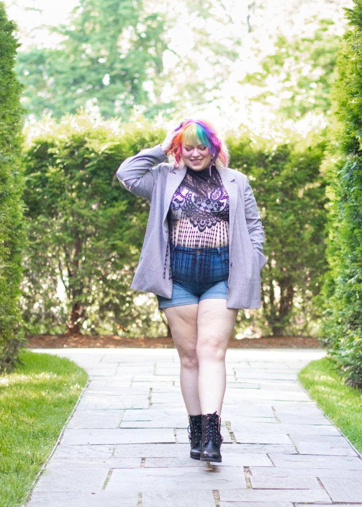 Hairspray and High Heels Fashion Blogger Summer Shoot 5