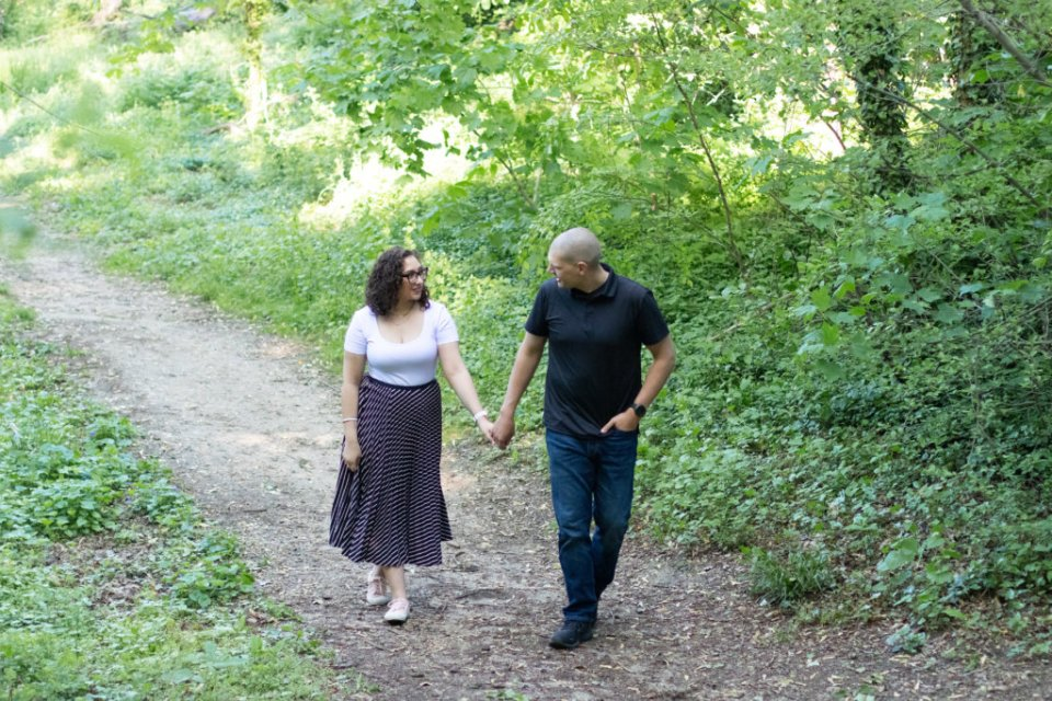 Engagement Session in Haddonfield, NJ 26