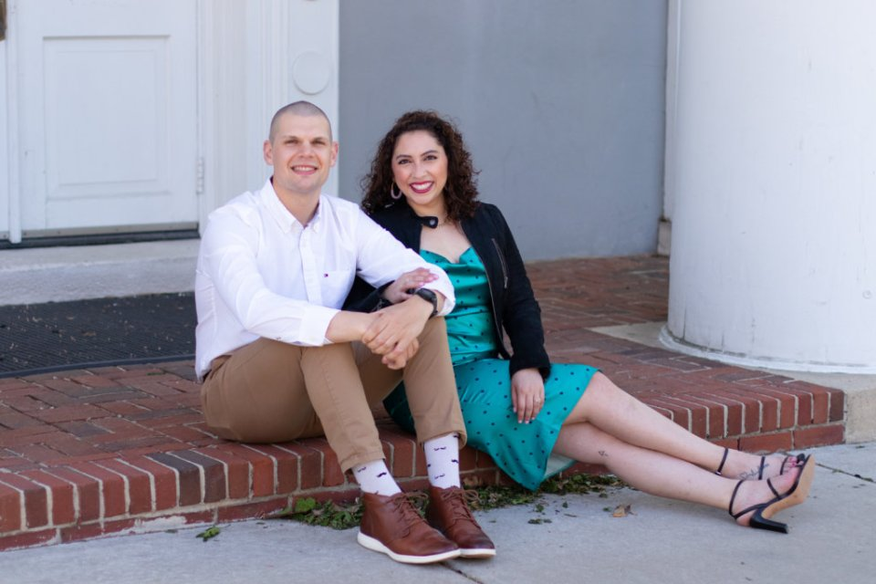 Engagement Session in Haddonfield, NJ 8
