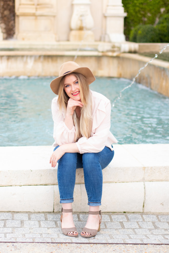 Headshot Session at Longwood Gardens with Beauty Advisor, Renee Wadsworth 10