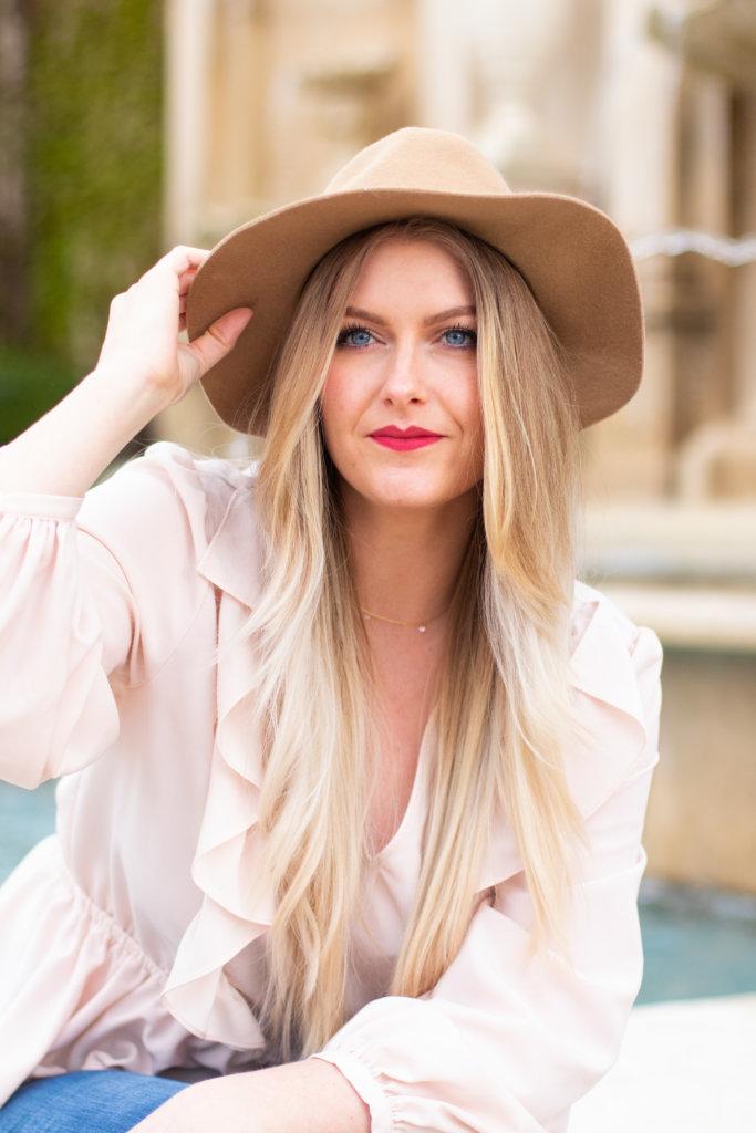 Headshot Session at Longwood Gardens with Beauty Advisor, Renee Wadsworth 9