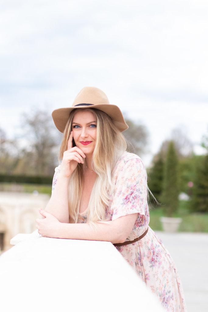 Headshot Session at Longwood Gardens with Beauty Advisor, Renee Wadsworth 15