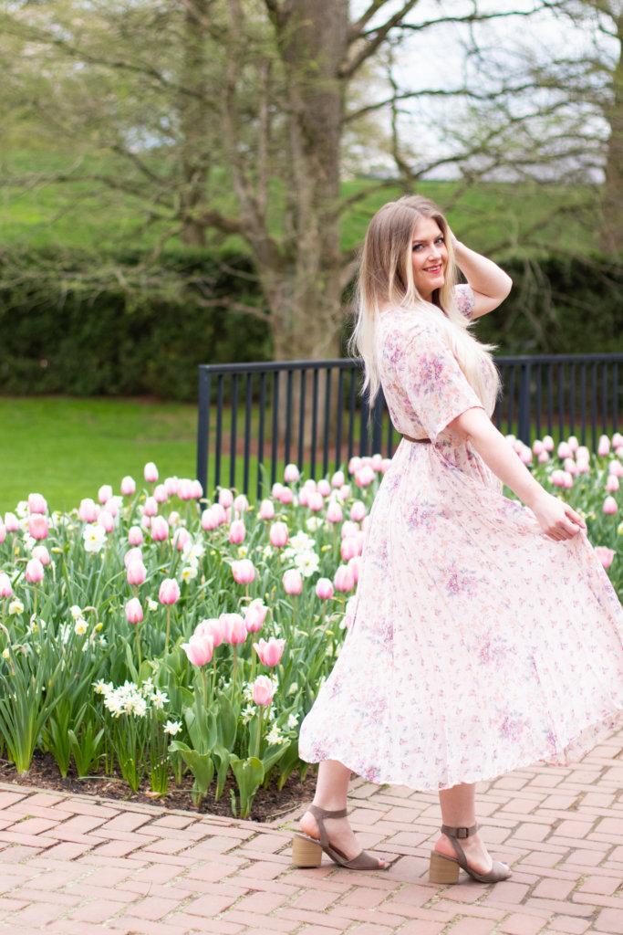 Headshot Session at Longwood Gardens with Beauty Advisor, Renee Wadsworth 23