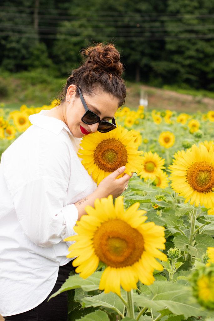 New Jersey Fashion Blogger Photo Shoot Happy Farm New Jersey 27