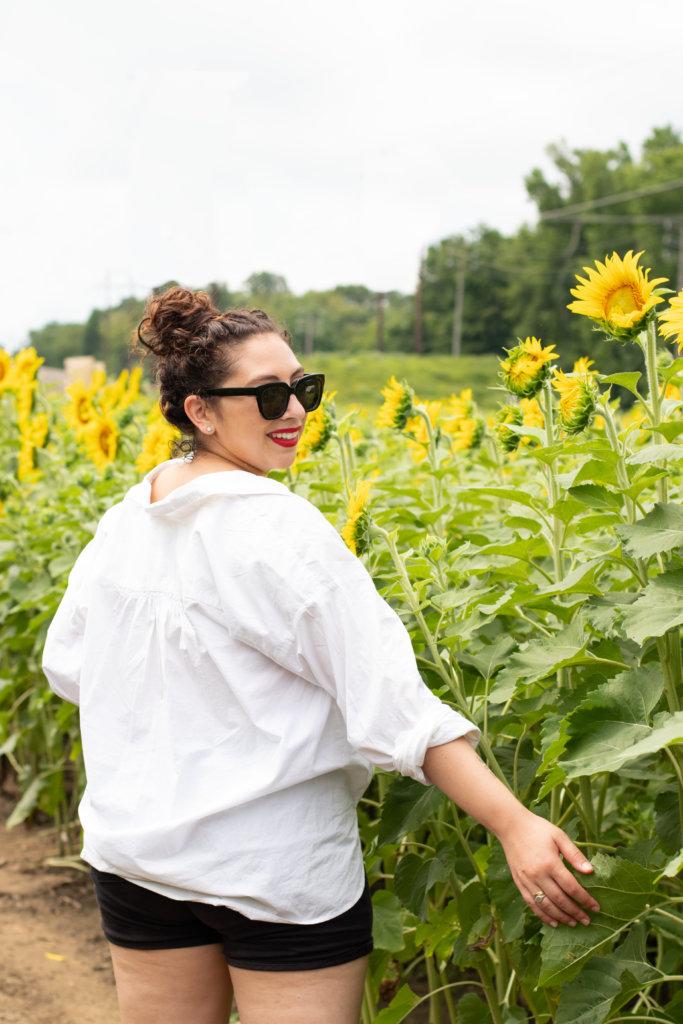 New Jersey Fashion Blogger Photo Shoot Happy Farm New Jersey 32