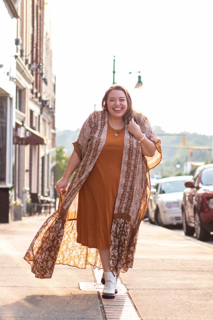 Fashion Blogger Summer Shoot in North Carolina 28