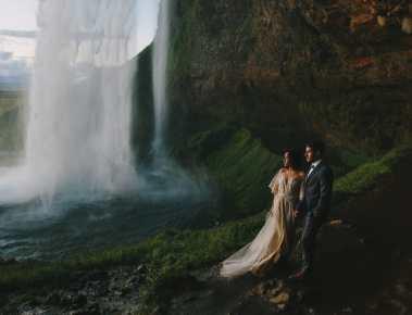 iceland wedding photo
