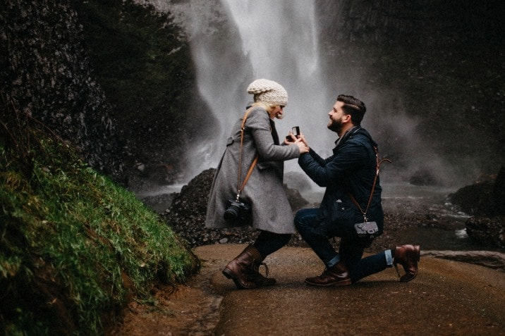 portland oregon proposal photo