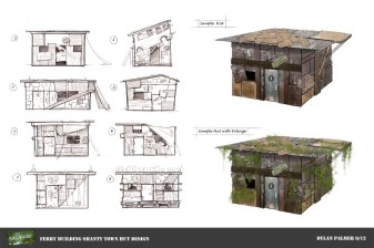 Salvage - Shanty Town Concepts