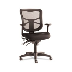 Alera Elusion Chair Comfortable Reading Chairs Series Mesh Mid Black Back Multifunction