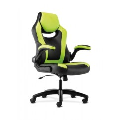 Gaming Chair Companies Swivel Replacement Cushions The Hon Company Basyx By Black Green Leather