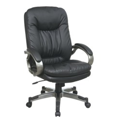 Chair For Office Use 400 Lb Capacity Folding Star Products Executive Bonded Leather