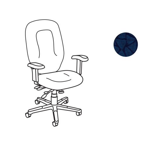 United Chair Savvy SVX16 Executive Chair with Arms, Frame