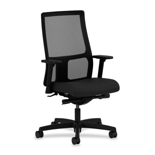 hon ignition 2 0 chair review bouncy office work task seating onyx fabric black seat frame