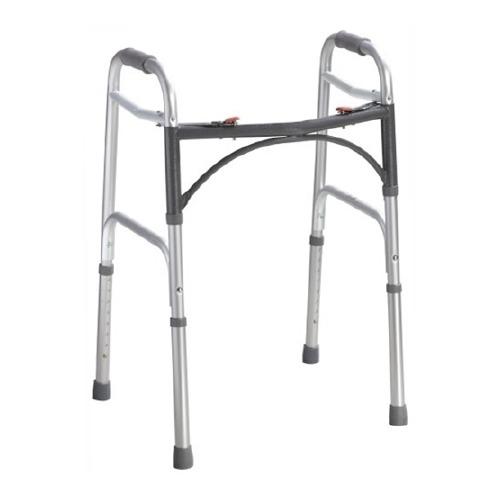 Mckesson Folding Walker Adjustable Height McKesson